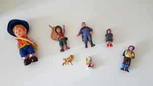 Figurines des Héros de Sans Famille
