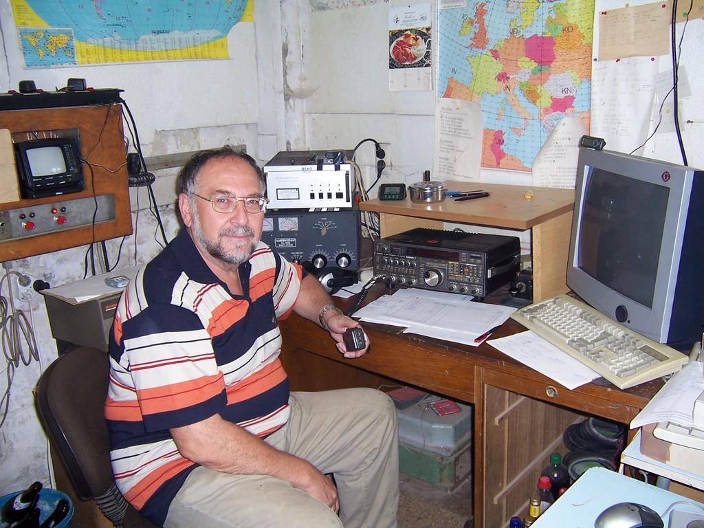 DL1ASF im Portable QTH Wilhelmsdorf