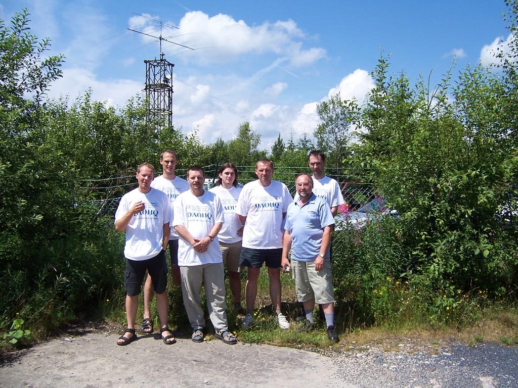 DL1ASF zu Besuch bei DA0HQ auf dem Wetzstein