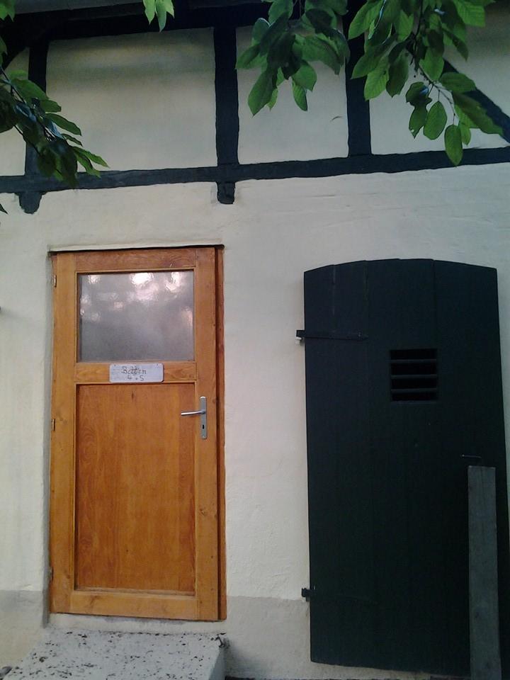 Eingang in Schlafraum 2