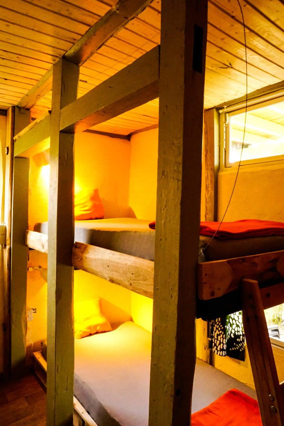 Jedes Bett mit eigenem Fenster