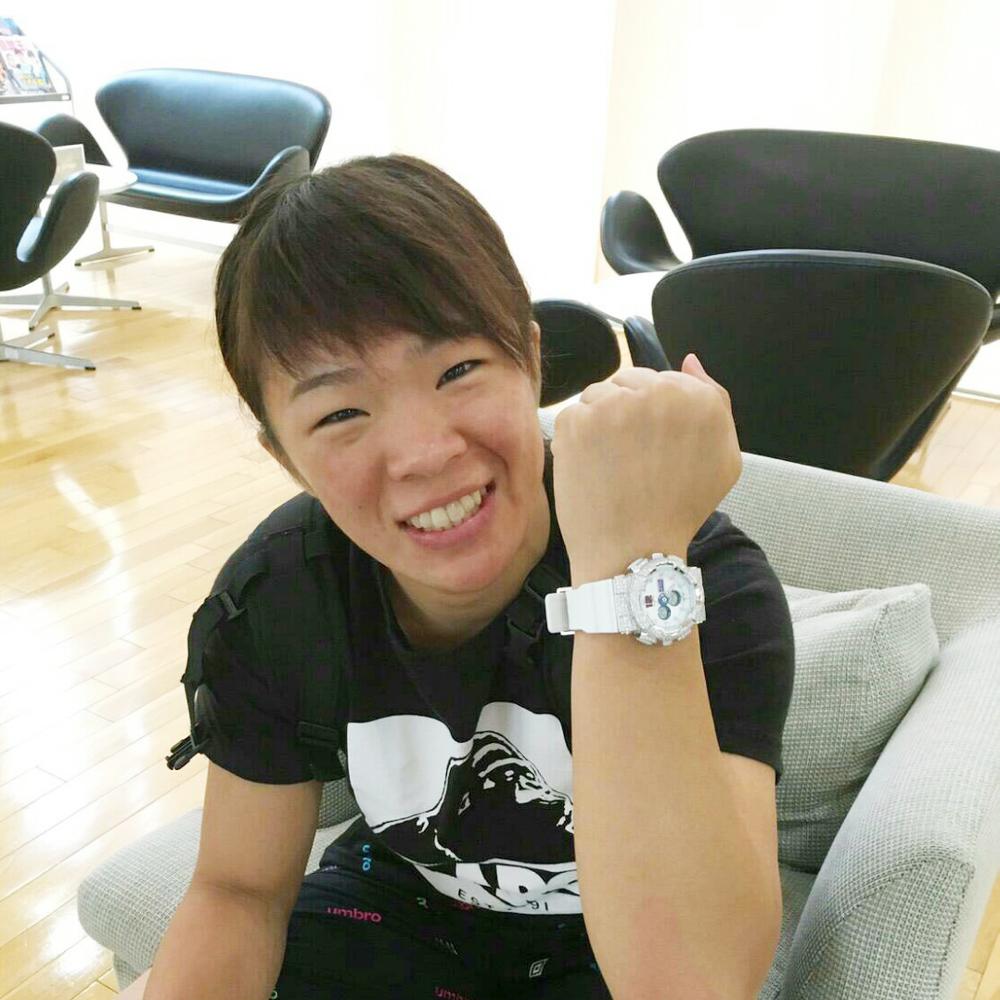 リオオリンピック 女子 レスリング 金メダルリスト 川井 梨紗子 選手