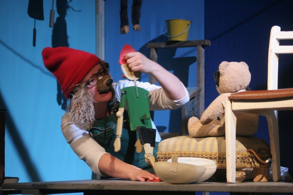 Fünfter Sein Christiane Kampwirth Puppenspiel