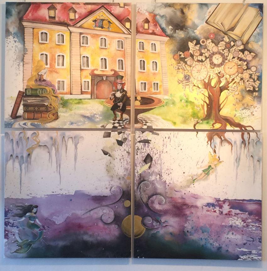 Schloss Theuern  4 Bilder nur zusammenhängend  2.400 €