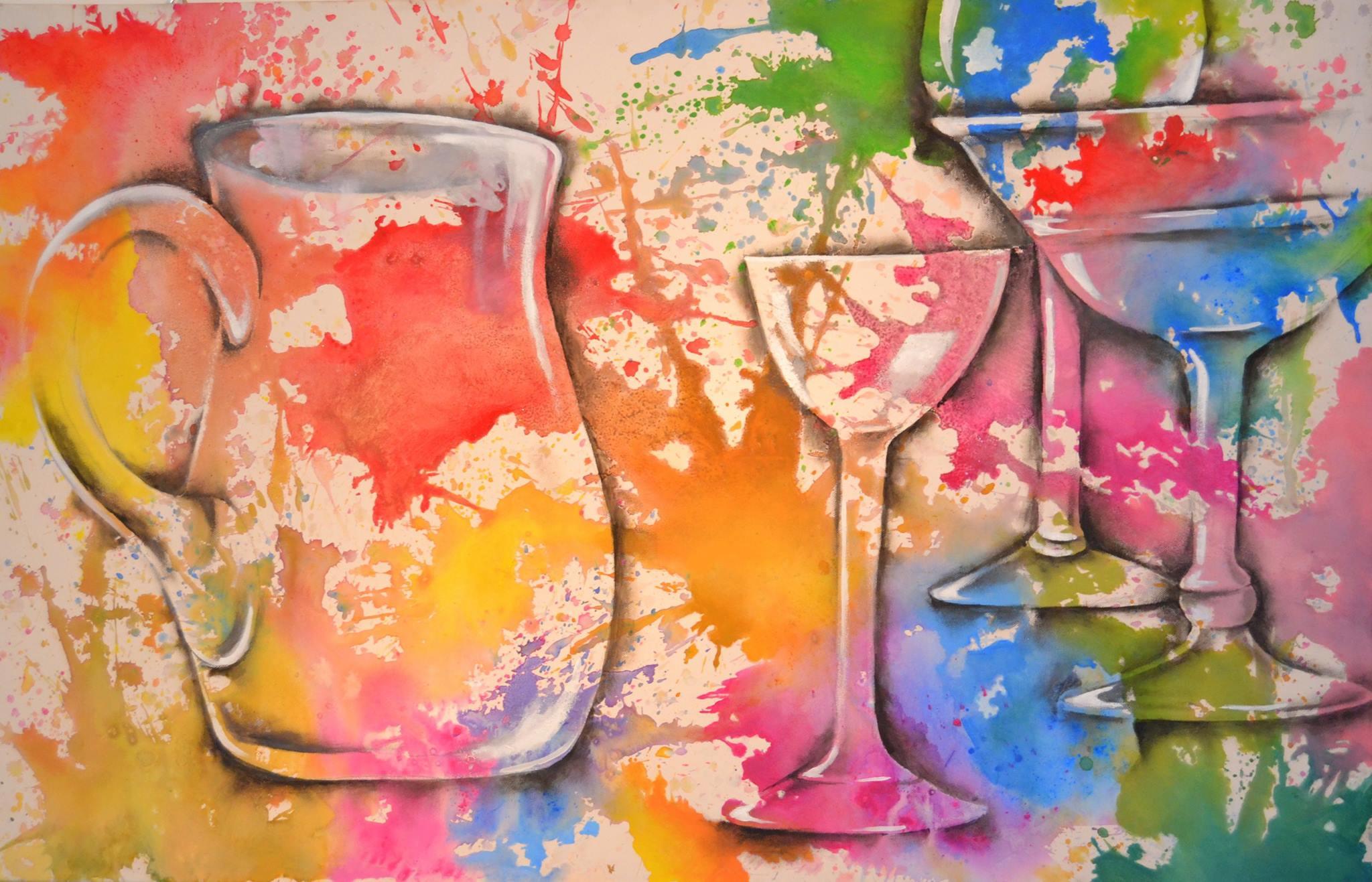 Gläserne Farbträume / verkauft
