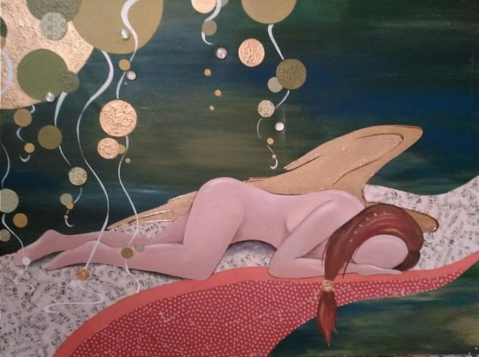 schlafender Engel / verkauft