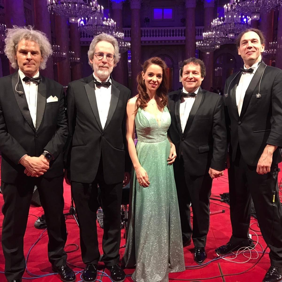 Joe Hofbauer Quintett in der Wiener Hofburg