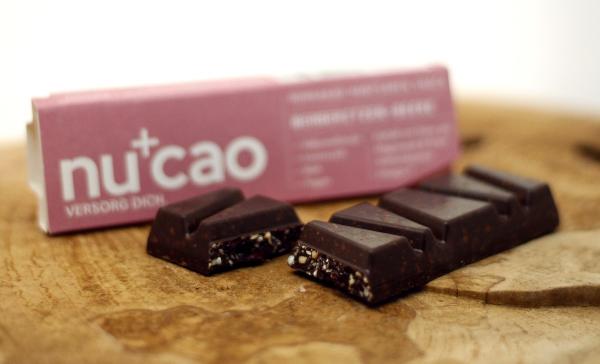 Berberitzen Kakao-Hanfsamen Riegel (Nucao)