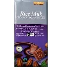 Vegane Reismilchschokolade Rosine-Haselnuss von Bonvita