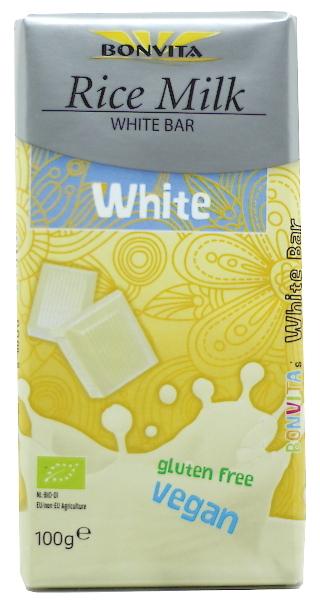 Weiße Reismilch-Schokolade (Bonvita)