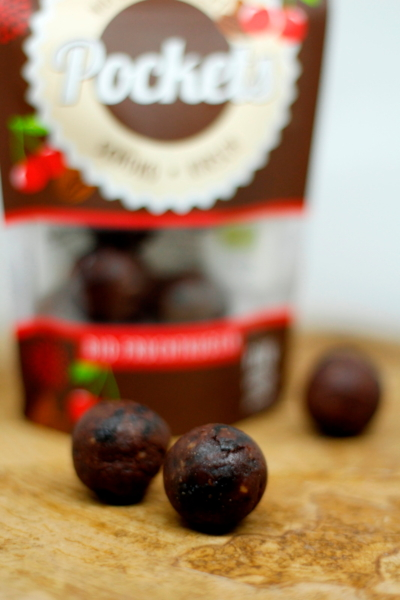 Pockets Schoko-Kirsch Fruchtkugeln  (Govinda)