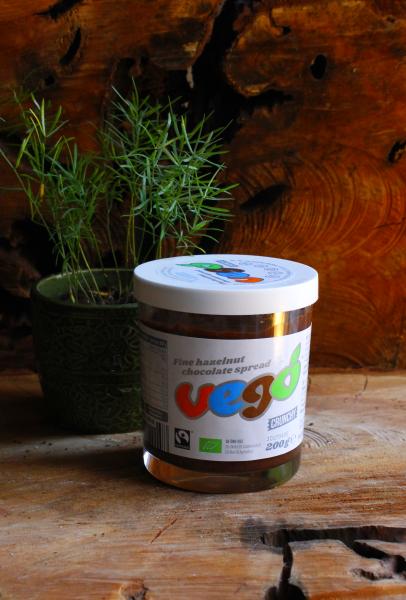 Haselnuss Streichcreme (Vego Chocolate)