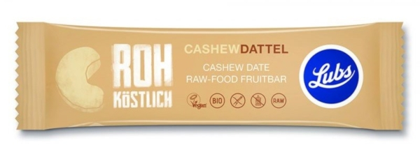 Cashew-Dattel Fruchtriegel (Lubs)