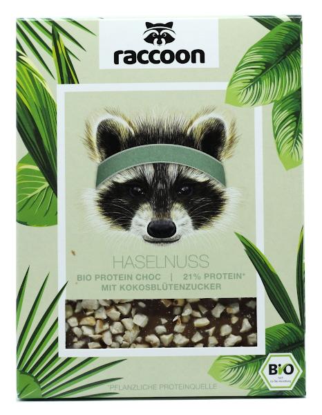 Haselnuss Bio Protein Choc (Raccoon)