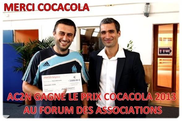 AC2N GANGNE LE PRIX COCACOLA 2013