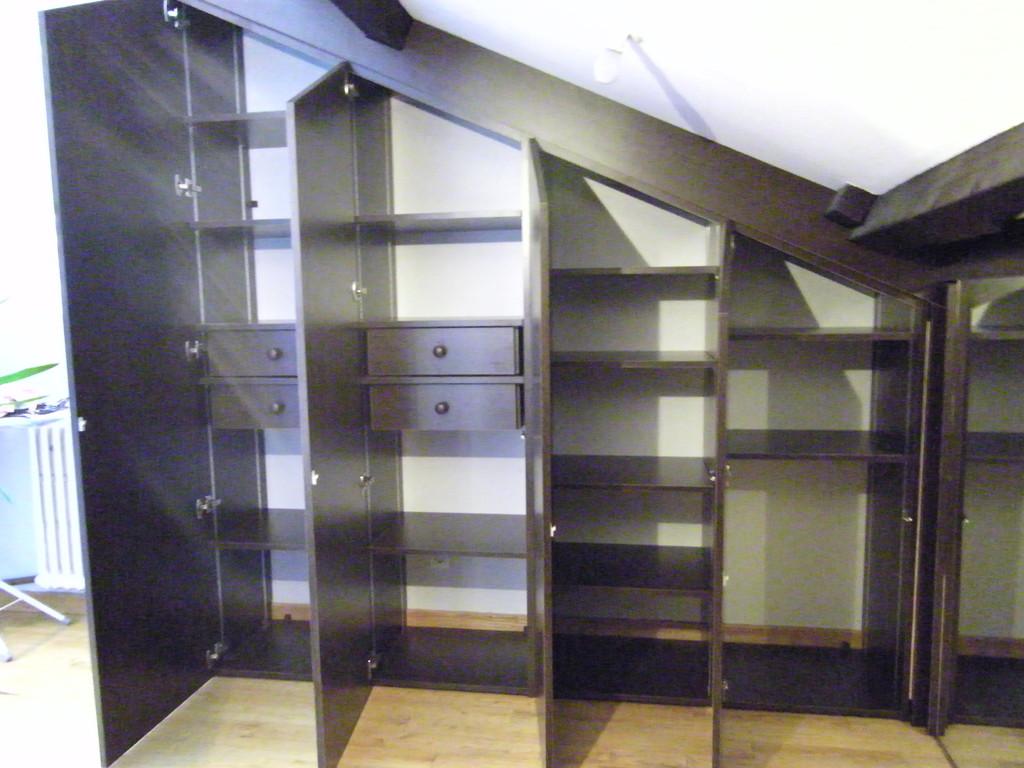 aménagement intérieur du meuble