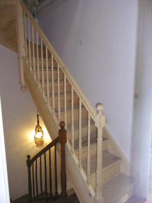 aménagement de comble avec escalier identique à l'existant