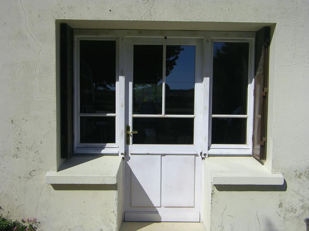 Ensemble porte est fenêtre (après)