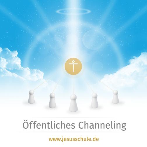 Öffentliches Channeling 2014 Jesus Christus