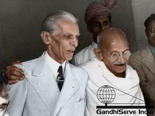 57 - Mahatma Gandhi (Ghandi) - Copyright: GandhiServe India - www.gandhiserveindia.org