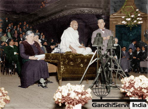 25 - Mahatma Gandhi (Ghandi) - Copyright: GandhiServe India - www.gandhiserveindia.org