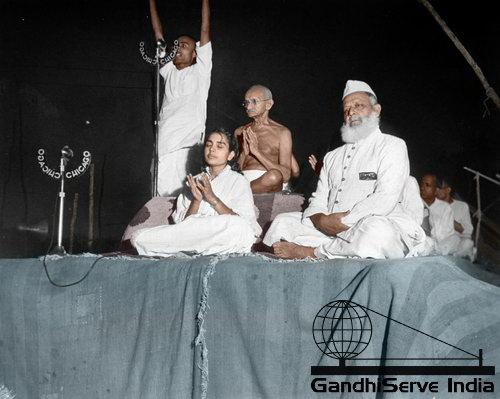 83 - Mahatma Gandhi (Ghandi) - Copyright: GandhiServe India - www.gandhiserveindia.org