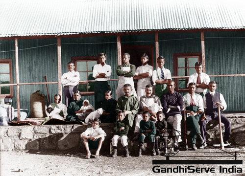 7 - Mahatma Gandhi (Ghandi) - Copyright: GandhiServe India - www.gandhiserveindia.org