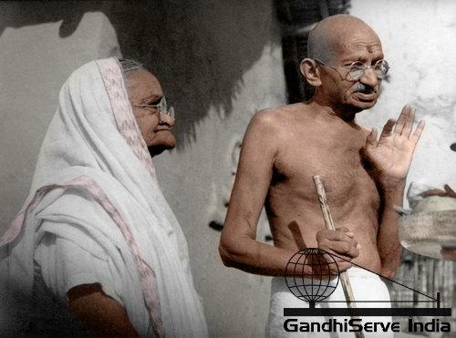 45 - Mahatma Gandhi (Ghandi) - Copyright: GandhiServe India - www.gandhiserveindia.org