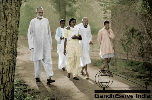 87 - Mahatma Gandhi (Ghandi) - Copyright: GandhiServe India - www.gandhiserveindia.org
