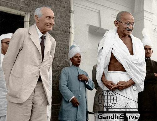80 - Mahatma Gandhi (Ghandi) - Copyright: GandhiServe India - www.gandhiserveindia.org