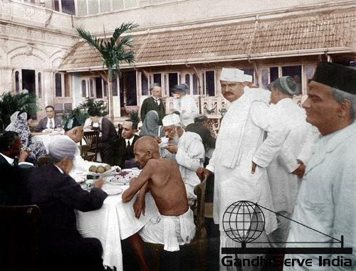 12 - Mahatma Gandhi (Ghandi) - Copyright: GandhiServe India - www.gandhiserveindia.org