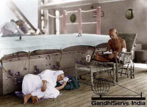 21 - Mahatma Gandhi (Ghandi) - Copyright: GandhiServe India - www.gandhiserveindia.org