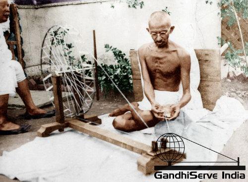 13 - Mahatma Gandhi (Ghandi) - Copyright: GandhiServe India - www.gandhiserveindia.org