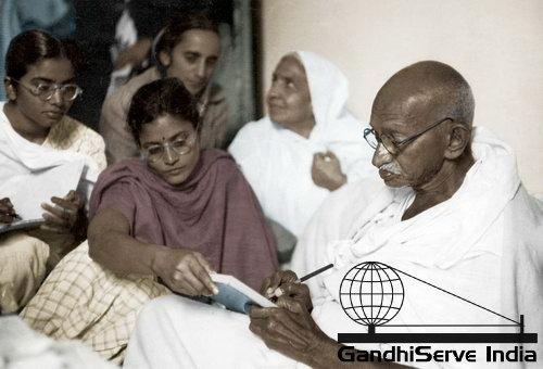 98 - Mahatma Gandhi (Ghandi) - Copyright: GandhiServe India - www.gandhiserveindia.org
