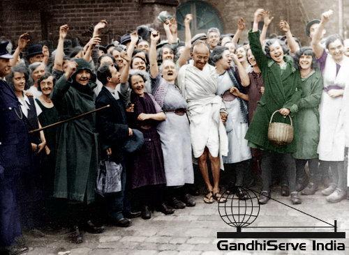 22 - Mahatma Gandhi (Ghandi) - Copyright: GandhiServe India - www.gandhiserveindia.org