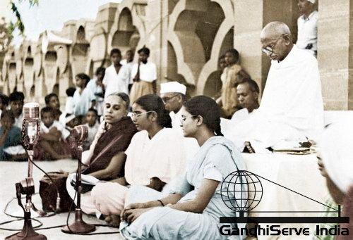 99 - Mahatma Gandhi (Ghandi) - Copyright: GandhiServe India - www.gandhiserveindia.org