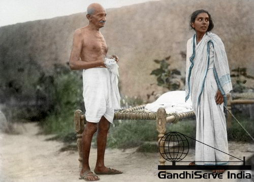 31 - Mahatma Gandhi (Ghandi) - Copyright: GandhiServe India - www.gandhiserveindia.org
