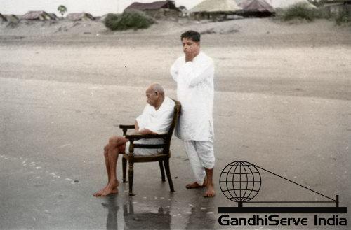 51 - Mahatma Gandhi (Ghandi) - Copyright: GandhiServe India - www.gandhiserveindia.org