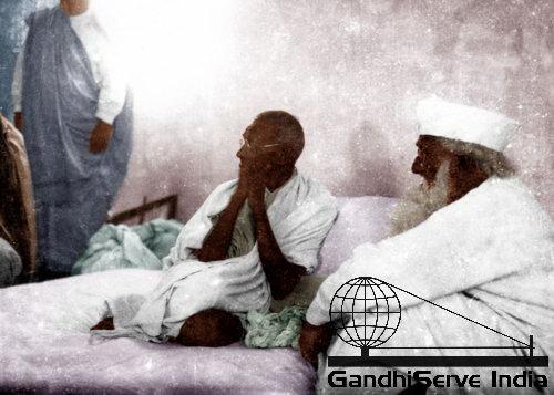 Mahatma Gandhi - Copyright: GandhiServe India - www.gandhiserveindia.org - Ghandi