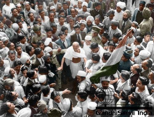 61 - Mahatma Gandhi (Ghandi) - Copyright: GandhiServe India - www.gandhiserveindia.org