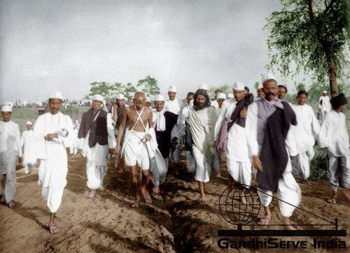 16 - Mahatma Gandhi (Ghandi) - Copyright: GandhiServe India - www.gandhiserveindia.org