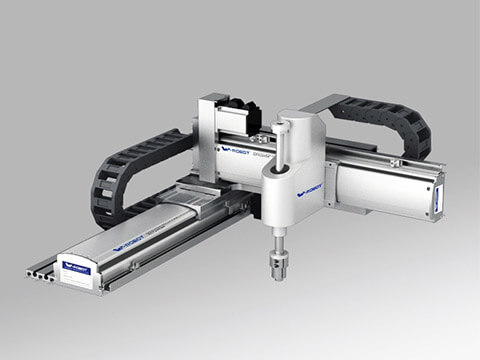 automated glue and filling machine - Linear motion systems
