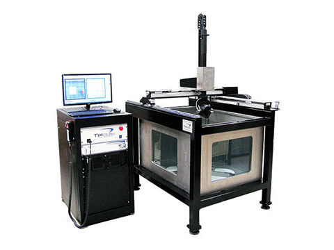 xyz axis robot inspection machine
