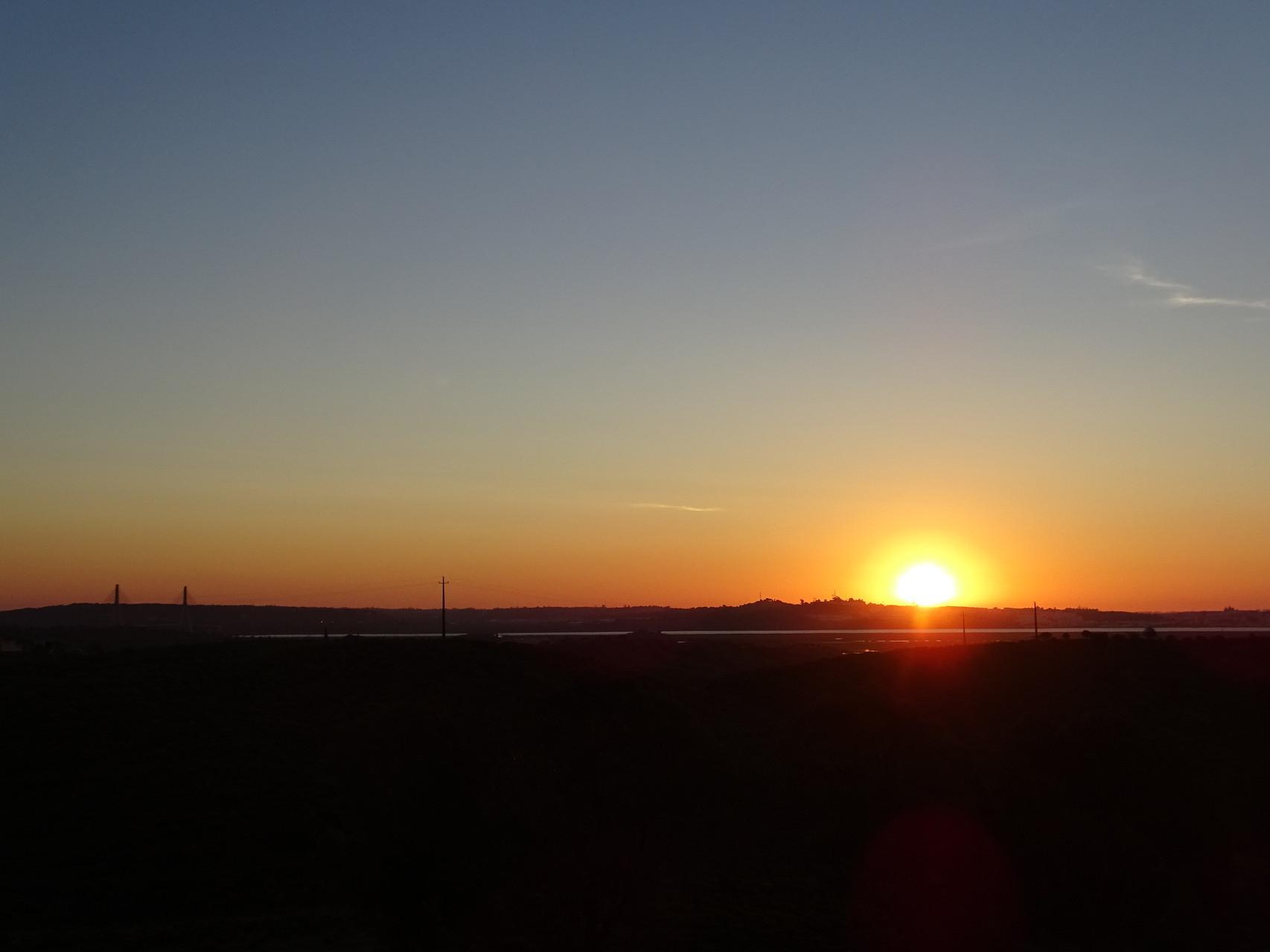 Blick von Vista Real gen Osten über die spanische Küste