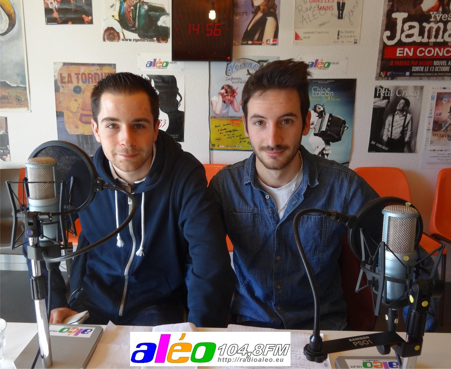 Julien et Amaury, BTS Lycée Lucie Aubrac de Davayé, février 2015