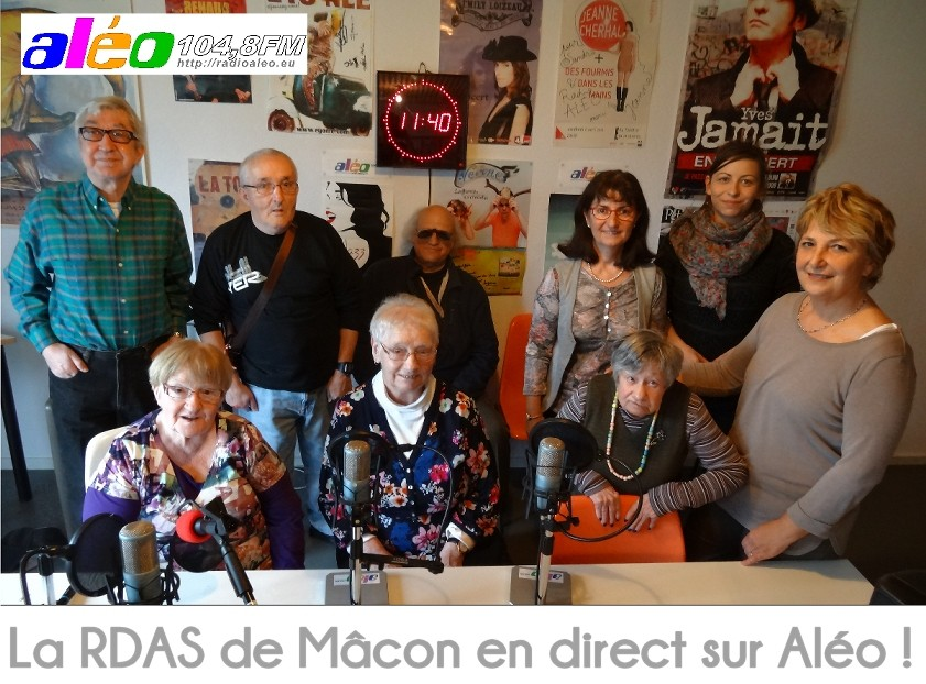 La RDAS de Mâcon en direct ! Novembre 2014