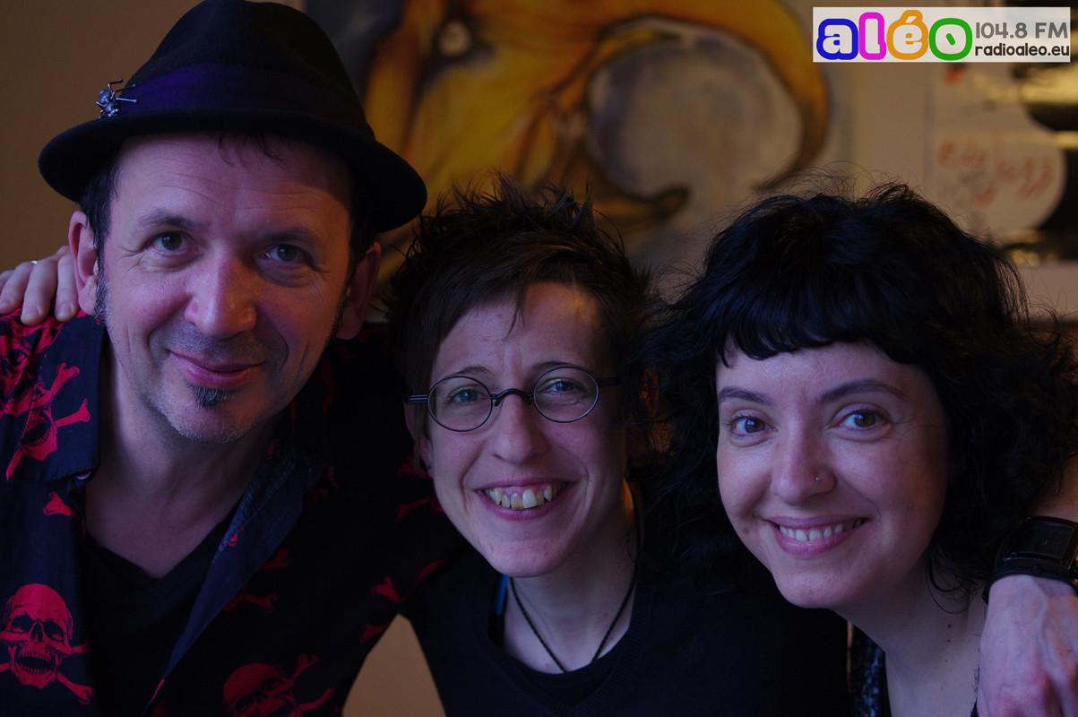 Lili Cros & Thierry Chazelle avec Sandra. Février 2016