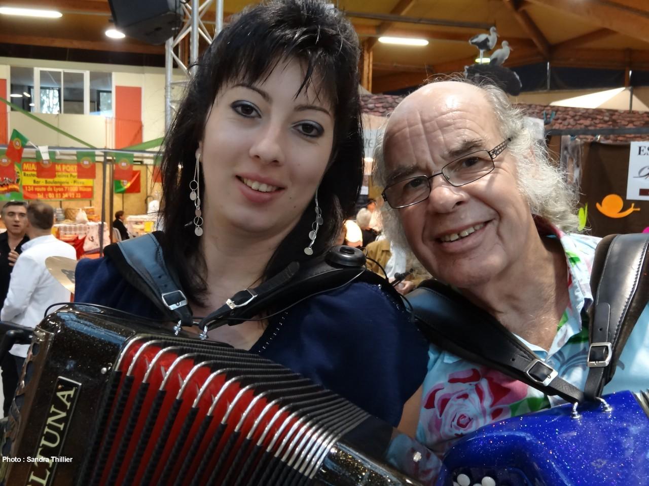 Julie Desplaces et Gilou