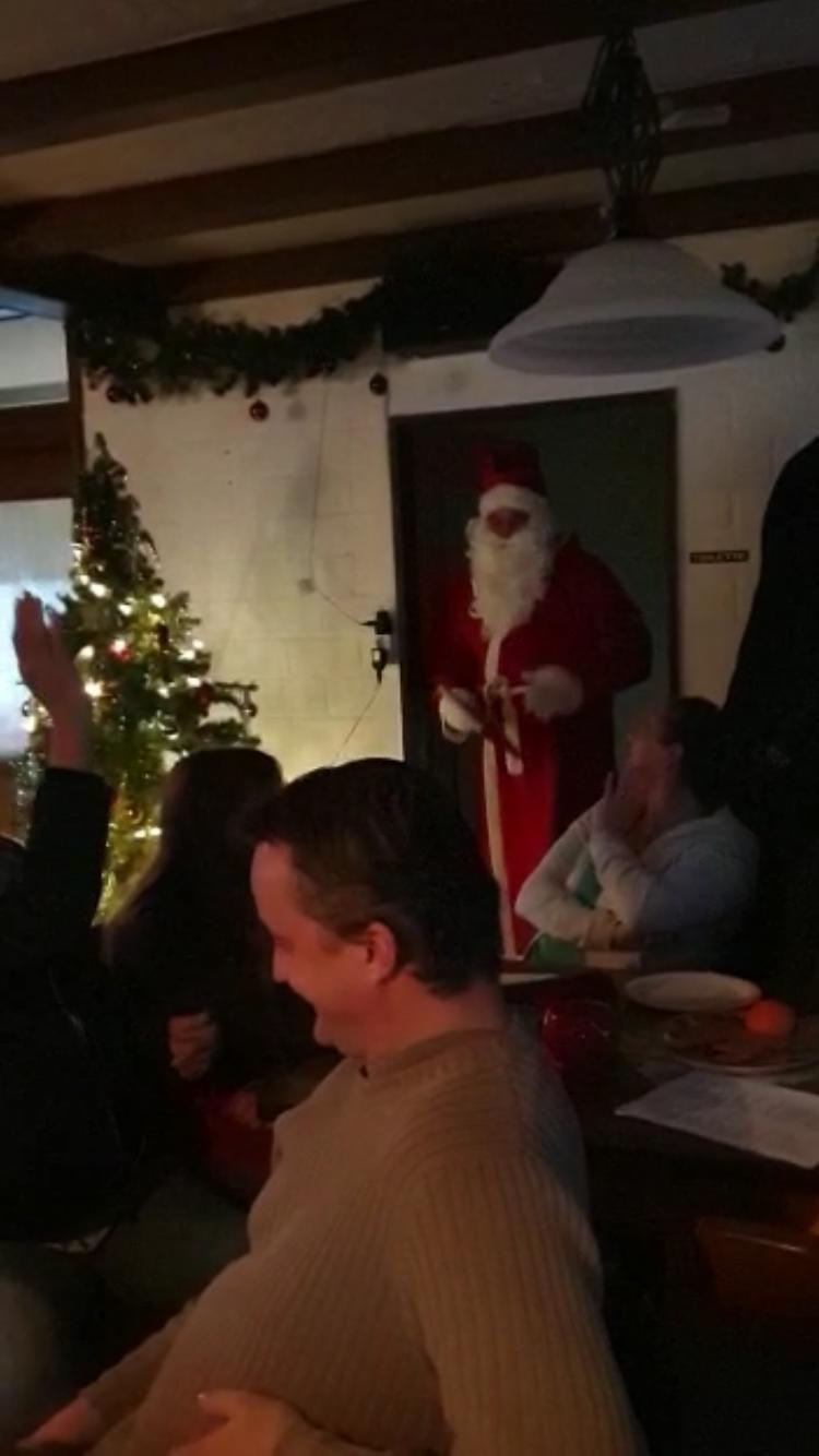 Der Nikolaus trifft ein