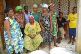 Die Frauengruppe ASFEMAC © Waltraut Biester